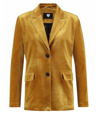 Jacket easy peacy geel 1802042606
