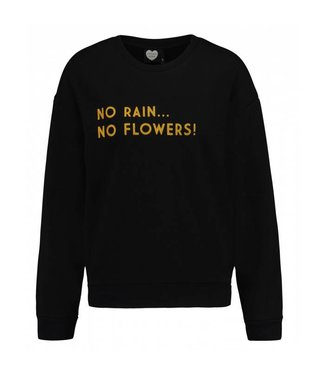 Sweater no rain zwart 1802041003