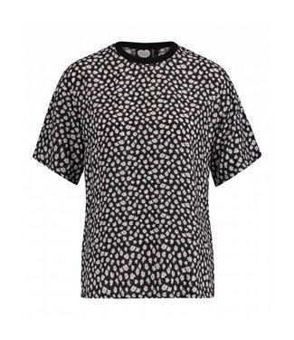 T-shirt sunshower zwart 1802040205