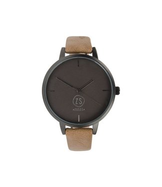 Zusss Hip Horloge camel 04HH18nCca