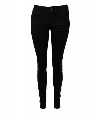 G-Star Lynn d-mid waist super skinny jeans zwart D06333-9142-082