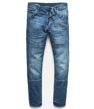 G-Star Faeroes classic straight tapered pants blauw D11399-8595-071