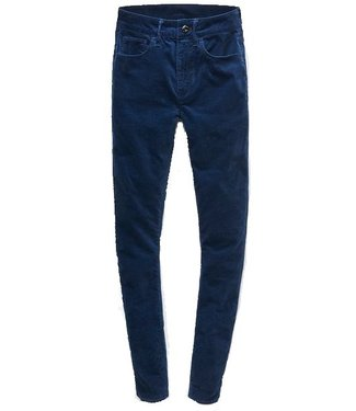 G-Star 3301 high waist skinny colored jeans wmn donkerblauw D10406-9395-6509