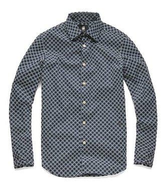 G-Star Core super slim shirt lichtblauw D03691-A731-8708