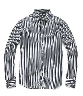 G-Star Core super slim shirt blauw D03691-A730-7008
