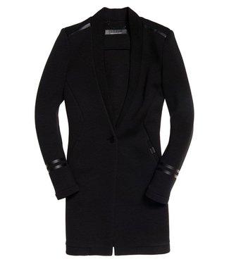Superdry Scuba nova blazer zwart G50012LR