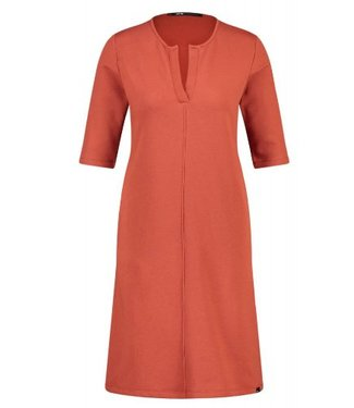 Penn & Ink Dress roest/oranje W18T097LTD