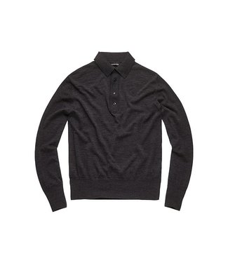G-Star Polo knit l/s antraciet D11735-8668-2864