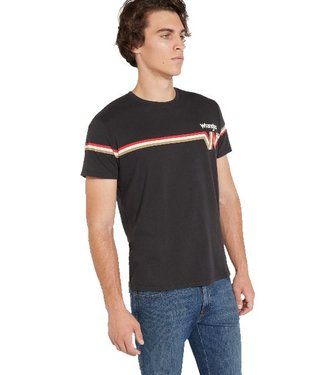 Wrangler Wrangler tee faded black W7B69GOV6