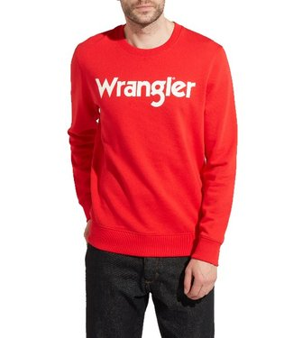 Wrangler Sweater rood w6565il1p
