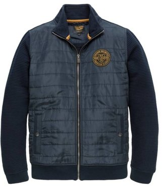 PME Legend Zip jacket structure sweat Dark Sapphire PSW188449
