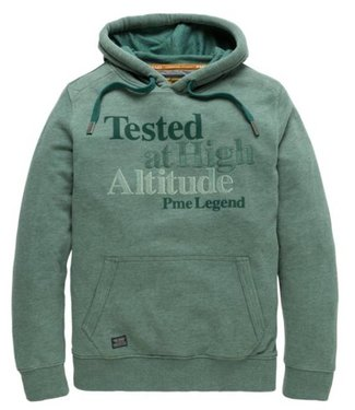 PME Legend Hooded jacket Brushed Falcon Silver Pine PSW188440