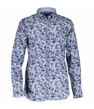State of Art Shirt Printed Poplin mintblauw 214-28811-5211