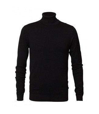 Petrol Industries Knitwear collar zwart M-FW18-KWC204