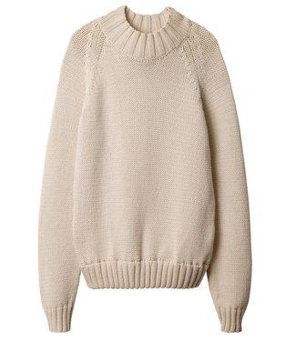10Days Crewneck sweater ecru 20-617-9101