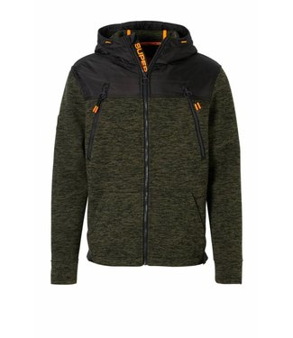 Superdry Mountain ziphood groen M20001MR