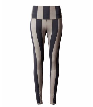 10Days Yoga legging big stripe zand 20-028-9101