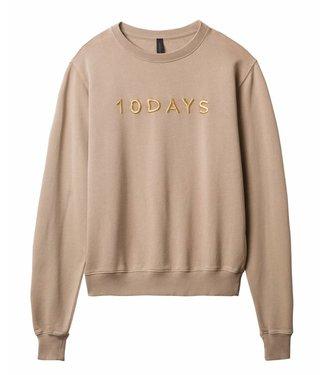 10Days Sweater zand/toppo 20-812-9101