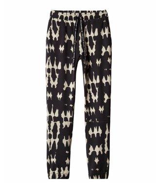 10Days Cropped jogger tie dye zwart 20-007-9101