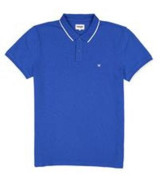 Wrangler Polo blauw W7C10K486