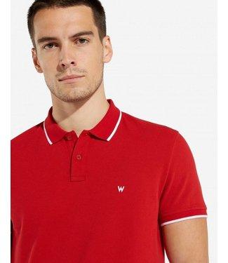 Wrangler Polo rood W7C10K4UU