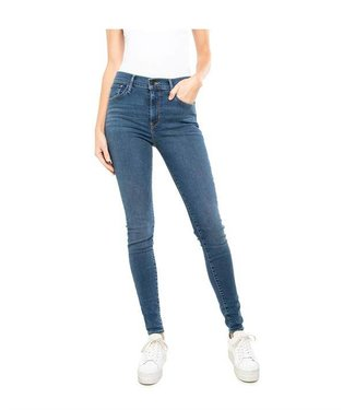 Levi's 720 high rise superskinny blauw 52797-0018