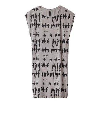 10Days Sleeveless dress grijs 20-307-9101