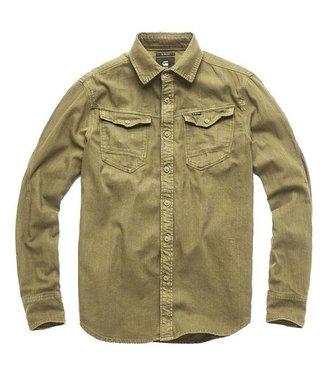 G-Star Arc 3d slim shirt groen D13541-7647-724