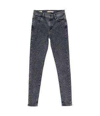 Levi's 720 hirise super skinny grijs 52797-0060