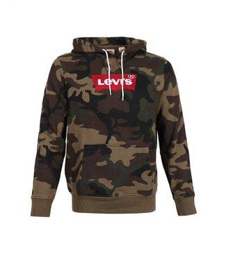 Levi's Modern hoodie groen 56808-0007