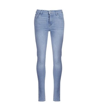 Levi's 720 hirise super skinny blauw 52797-0059