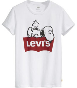 Levi's The perfect tee peanuts wit 17369-0529
