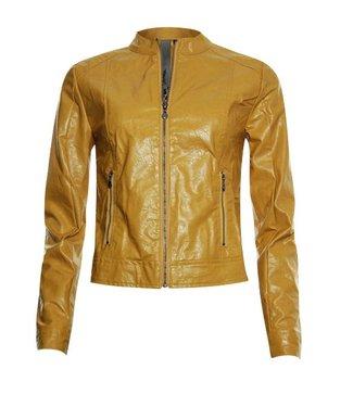 Poools Jacket pu geel 913130