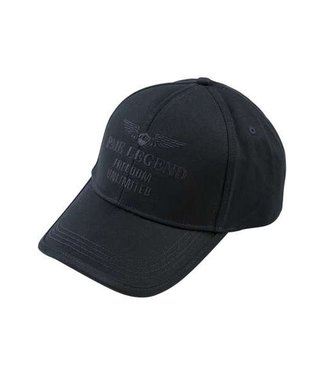 PME Legend Cap Washed Cotton Twill Dark Navy PAC191151