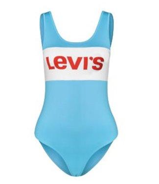 Levi's Colorblock bodysuit lichtblauw 57648-0001
