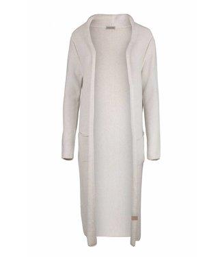 Zusss Lekker lang vest off white 03LV19v