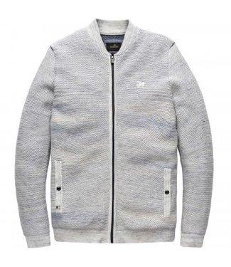 Vanguard Bomber jacket cotton Bright White VKC191128