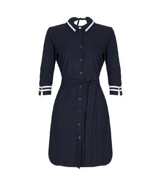 Jane Lushka Overhemd jurk blauw U919SS101