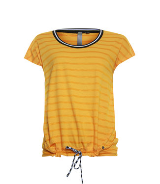 Poools T-shirt plain oranje 913163