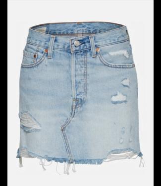 Levi's Deconstructed skirt lichtblauw 34963-0021