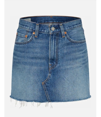 Levi's Deconstructed skirt blauw 34963-0023