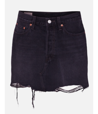 Levi's Deconstructed skirt grijs 34963-0027