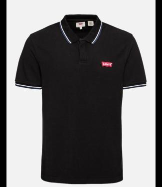 Levi's Ss modern hm polo zwart 69948-0002