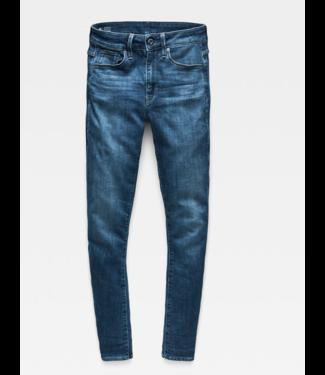 G-Star 3301 high waist skinny jeans blauw D05175-8968-9362