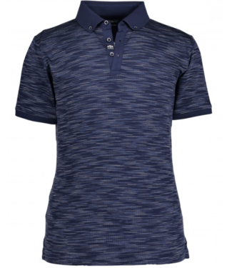 State of Art Poloshirt Jersey SS donkerblauw 48519249