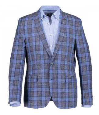 State of Art Blazer Checked - Mod marine 71519533