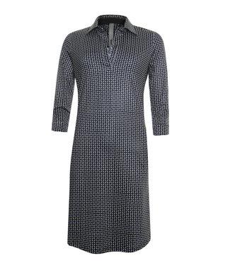 Poools Dress printed zwart 913151
