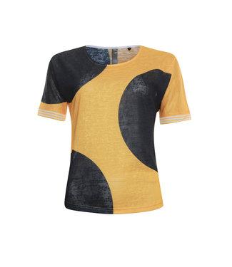 Poools T-shirt print oranje 913184