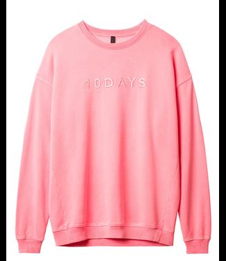 10Days Oversized sweater roze 20-816-9101