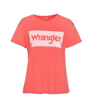 Wrangler Drape tee roze W7016DIVZ